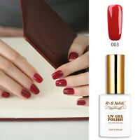 RS Nail Gel Nail Polish UV LED Soak Off Red 003 15ml