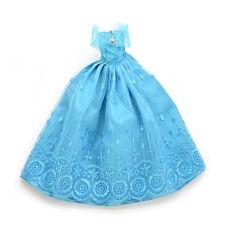 1 Pcs Fashion Handmade Clothes Dresses For Barbie Doll & Disney Princess KSK10