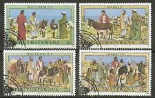 Bophuthatswana - Leidensgeschichte Jesu Christi Satz 1983 gestempelt Mi. 104/7