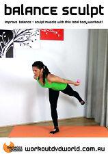 Barre Ballet Style EXERCISE DVD - Barlates Body Blitz BALANCE SCULPT!