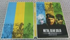 Metal Gear Solid - Limited Edition Stickerbook - G1 - Steelbook - Ps4 - No Game