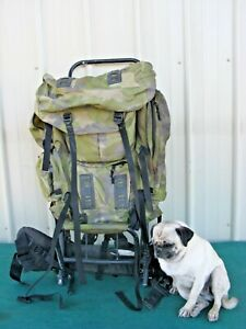 Cabela's Rifle Backpack Frame Pack Bag Outdoor Hunting Camping Hiking Fishing