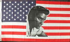 """USA ELVIS"" flag 3x5 ft poly"