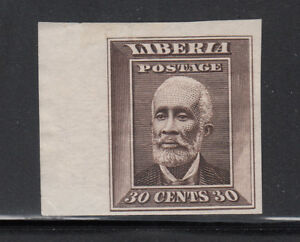 Liberia # 122 Imperforate Mint 1909 Issue President Barclay