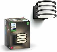 Philips Hue Lucca White Outdoor LED Smart Wall Lantern 802058