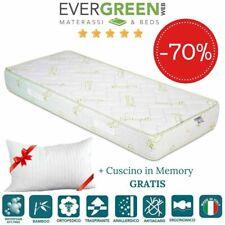 EVERGREENWEB ✅ Materasso Singolo 80x190 Effetto Massaggiante + Cuscino 🎁