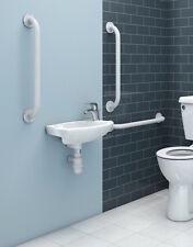 Steel Grab Rails - Bathing Aid Disabled Toilet Bathroom Safety Grab Bar