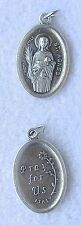ST AGNES Catholic Saint Medal Patron chastity purity engaged couples girls  NEW