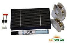 125 WHOLE 3x6 Solar Cell Solar Panel KIT Rough Edge USA