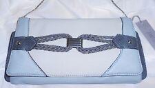 Womens Glacier Gray Jennifer Lopez  Clutch Purse Handbag Shoulderbag 50% Off NWT