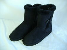 New Womens 6 KIRRA Black Boots Snow Shoes Winter House