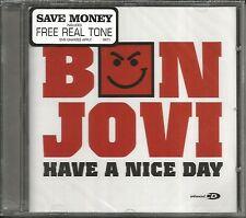 BON JOVI Have A Nice Day w/ I get / Miss fourth LIVE & VIDEO UK CD Single SEALED