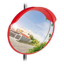Verkehrsspiegel 60 cm, Beobachtungsspiegel, Weitwinkelspiegel, Konvexspiegel rot