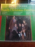 Bing Crosby and the Columbus Boychoir Sing Family Christmas Favorites Decca LP