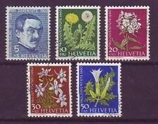 Briefmarken aus der Schweiz (ab 1945) mit Blumen-Motiv