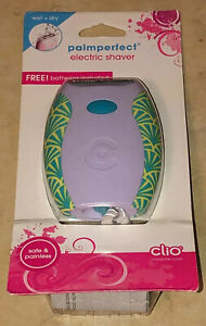 Clio Palm Perfect Cordless Electric Shaver For Women
