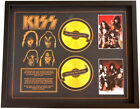 New KISS CD Memorabilia Framed