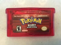 Pokemon Ruby Nintendo GameBoy Advance GBA Authentic
