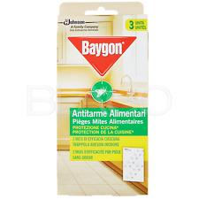 Baygon Antitarme Alimentari Prot3zione Cucina - 3pz
