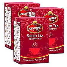 Wagh Bakri Spiced Masala Black Chai tea Indian Breakfast Spices CTC Blend 750g