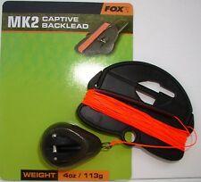 Fox Absenkblei/Captive Back Lead MK2 in 4oz / 113gramm - genial