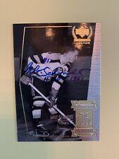 Milt Schmidt Autographed Signed Boston Bruins Upper Deck Century Legends Card