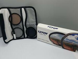 Tiffen Photography FILTER KIT Digital Camera Video 72mm Polarize Enhance 812