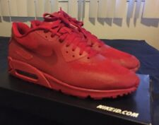 "NIKE AIR MAX 90 RARE HYPERFUSE PREMIUM iD RED INDEPENDENCE ""RED OCTOBER"" SZ 13"