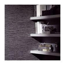 Modern Stack Stone Design Slate Charcoal non woven Vinyl Wallpaper