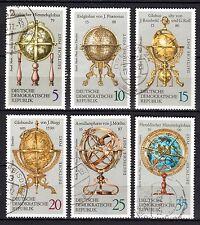 Germany / DDR - 1972 Antique globes - Mi. 1792-97 VFU