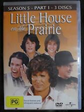 Little House On The Prairie : Season 5 : Part 2 (DVD, 3-Disc Set, Region 4) c1