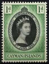 Cayman Islands 1953 SG#162 QEII Coronation MNH #D69279