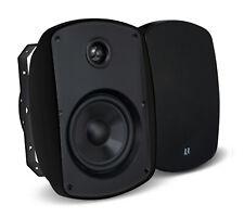 "Russound 5B45B 4"" 2 way Indoor Outdoor Speakers PAIR in Black 5B45-B NEW SEALED"