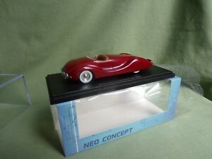 SUPERBE NORMAN TIMBS SPECIAL DE 1948 ROUGE CARMIN RESINE NEO 1/43 NEO46475