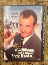 The Man Who Knew Too Little (DVD, 1998)NEW Authentic US Release