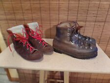 Vintage VAL D'OR EIGER DARBELLAY  285-10 MOUNTAINEERING BOOTS W/ LINER   SIZE 10