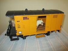 LGB Spur G 4033 Gedeckter Güterwagen/Viehwagen s.Foto o.OVP WH7686