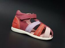 Brand New $70 KICKERS Toddler Girls LEATHER Sandals Baby Size 5 USA/21 EURO