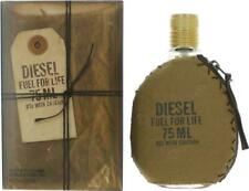FUEL FOR LIFE BY DIESEL 2.5 O.Z EDT SPRAY *MEN'S PERFUME* NEW SEALED COLOGNE