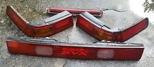 OEM Complete Set 6pc 1992-1997 Subaru SVX Rear Tail Brake Light Lamps Lenses