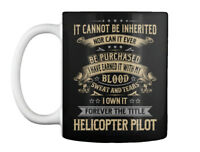 Helicopter Pilot My Blood Gift Coffee Mug