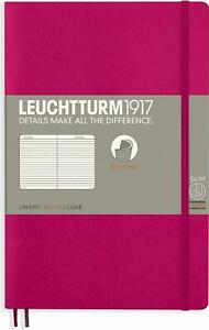 Leuchtturm1917 Notebook Paperback (B6+), Softcover, 123 Numbered Pages