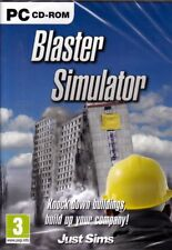 BLASTER SIMULATOR (PC Sim Game) be a demolition specialist FREE US Shipping