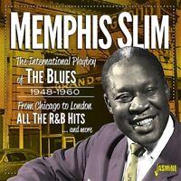 MEMPHIS SLIM - INTERNATIONAL PLAYBOY   CD NEW