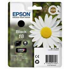 1 Noir Véritable Epson XP-30 xp-225 xp-322 XP-405WH XP-412 xp-422 Cartouche d'encre