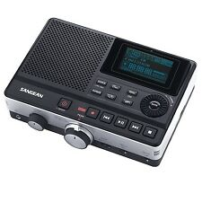 Sangean DAR-101 Professional Grade Digital MP3 Recorder with LCD Display, Black
