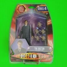 More details for doctor who series 4 action figure 10th dr with 5 adipose figures (new in pack)