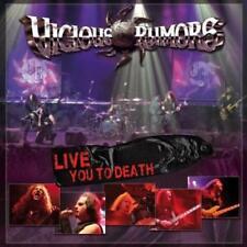 Vicious Rumors Live You to Death CD NUOVO/SIGILLATO/SEALED