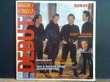 DEBUT ISSUE 2  Magazine and album  Various   LP  Ultravox  Scott Walker etc