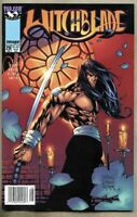 Witchblade #28-1999 nm- 9.2 Image Top Cow Green Standard Newsstand Variant cover